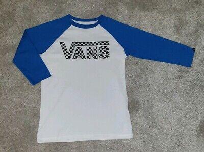 Womens Vans Long Sleeve T Shirt