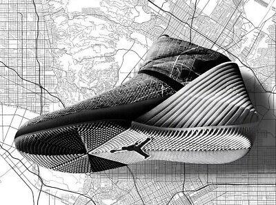 bea2d0097c0ef6 New Nike Jordan Why Not Zer0.1 CITY OF FLIGHT 2018 All-Star Game - Men s  Size 10