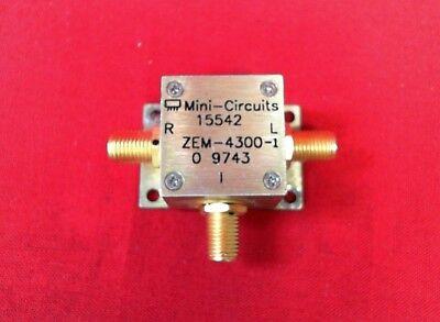 Mini-circuits Zem-4300-1 Coaxial Frequency Mixer 300-4300 Mhz