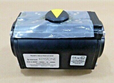 Keystone Pneumatic Rack Pinion Actuator Mrp-009u-k-s080 Spring Return 120 Psi