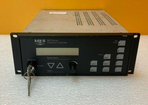 MKS 651CD2S2N  253+653 Valve Digital / Analog Pressure Valve Controller. Tested!