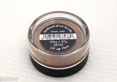 All Over Face Bronzer (bare Minerals * FAUX TAN * All Over Face Color Bronzer $15 ~ BRAND NEW & SEALED)