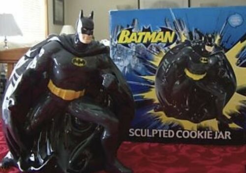 Big Bang Batman Cookie Jar Brand New In Box Original Pkg