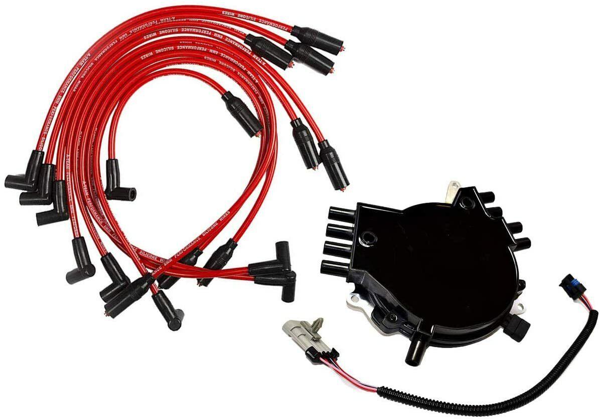 OptiSpark Spline Drive Distributor & Spark Plug wires & Wiring Harness For  Chevy   eBay   Spark Plug Wiring Harness      eBay