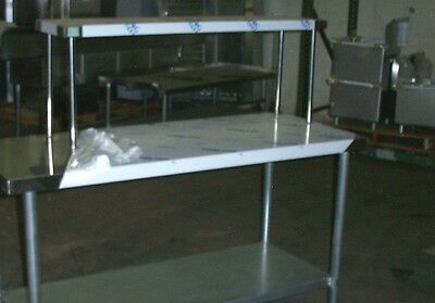 12x48 Stainless Steel Single Tier Over Shelf