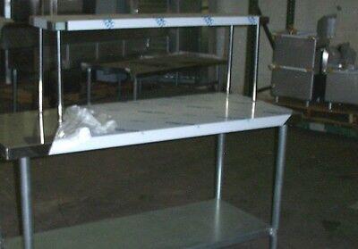 12x60 Stainless Steel Single Tier Over Shelf