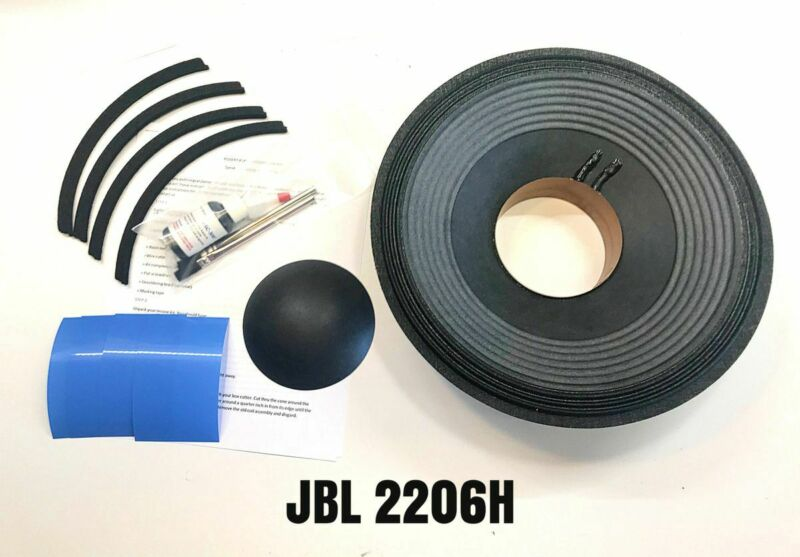 JBL 2206H, Reproduction Drop In Recone Kit- 8 Ohms