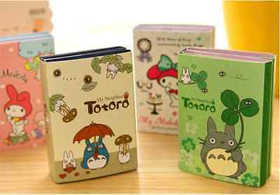 Lot 4 Cute My Neighbor Totoro Melody Memo Pad Stationery Sticky Notes Index Tab