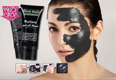 50ml Purifying Blackhead Mask Remover Peel-Off Facial Cleansing Black Face Mask