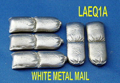 Military Lead Casting LAEQ1A 1:32 Scale Double Sandbag x 5 - Zulu Wars