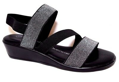 TS shoes TAKING SHAPE sz 6 / 37 Ainslie Sandals low wedge chic comfy slip-on NIB