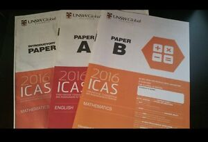 ICAS PAPERS FOR YEAR 2 / YEAR 3 / YEAR 4 for $1 each Macquarie Fields Campbelltown Area Preview