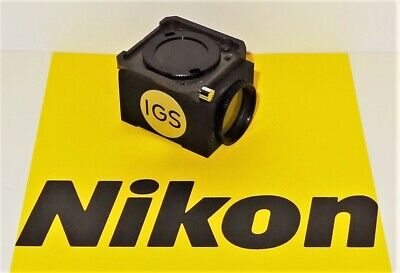 Nikon Igs Fluorescent Microscope Filter Cube For Labophot Optiphot Microphot