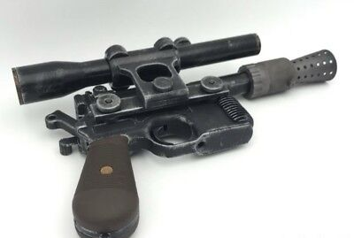 Han Solo Blaster (Han Solo blaster kit- With Instructions - 3D)