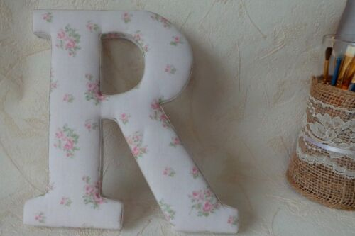 Fabric Covered Wood Nursery Letter