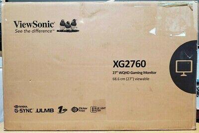 """ViewSonic - XG Gaming XG2760 27"""" LED QHD G-SYNC Monitor"""