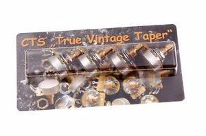CTS-TVT-Area59-039-True-Vintage-Taper-500K-Corto-Shaft-Poti-fits-Gibson-Guitarras