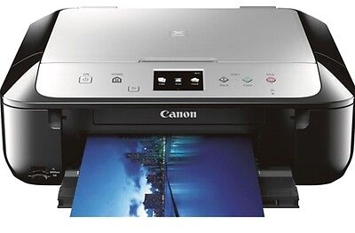 Canon PIXMA MG6821 Wireless Photo All-in-One Inkjet Printer With INKS BRAND NEW