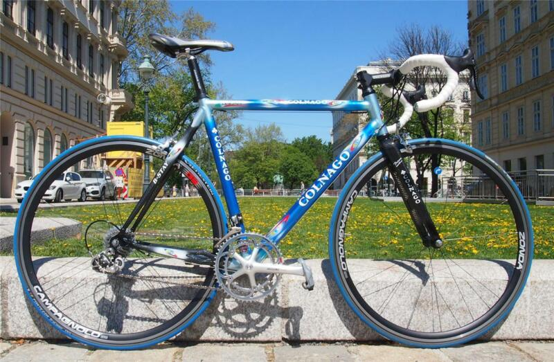 Excellent COLNAGO DREAM B-Stay Road bike Campagnolo Chorus Carbon 10 Speed 53cm