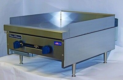 New Blue Flame Natural Gas Countertop 34 Thick Flat Top Griddle Bfmg Grill