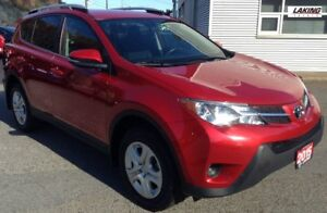 2015 Toyota RAV4 LE FWD PRACTICAL CROSSOVER WITH CONFIDENT HANDL
