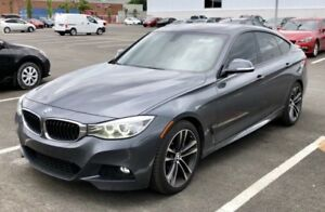 2014 BMW 3 Series Gran Turismo 335i xDrive IMPECCABLE! GPS! LEAT