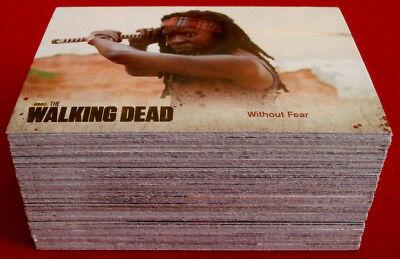 THE WALKING DEAD - Season 3 - Part 2 - COMPLETE BASE SET (72 cards) - Cryptozoic