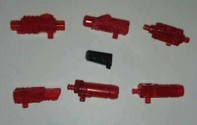 TFC Hercules translucent red blaster set weapon Transformers combiner Devastator