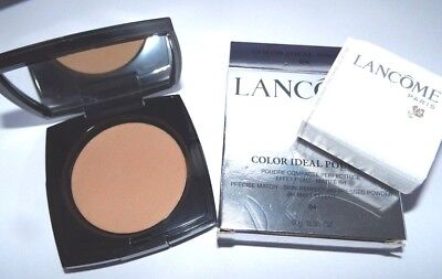 Natural Perfecting Powder Foundation - Lancome Color Ideal Poudre Skin-Perfecting Pressed Powder 04 Beige Nature New