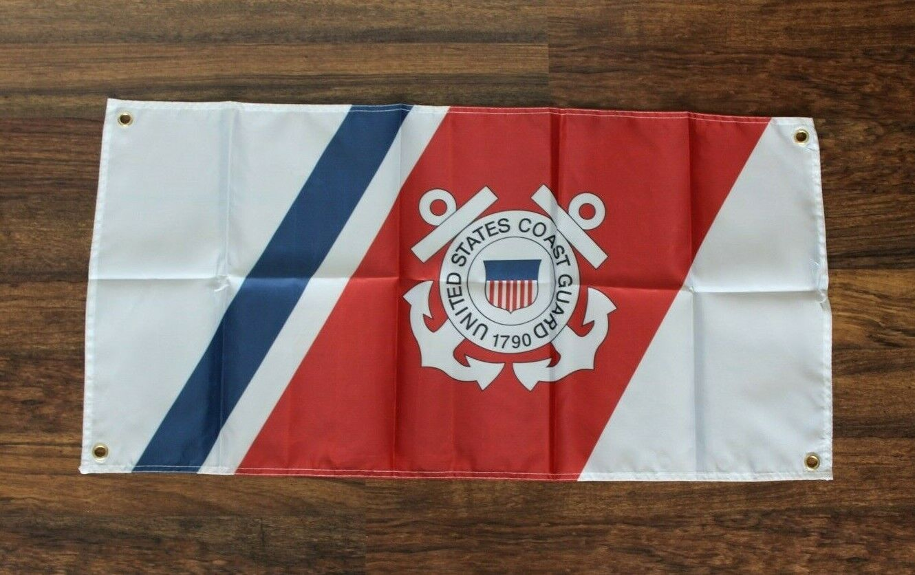 new uscg banner flag united states of