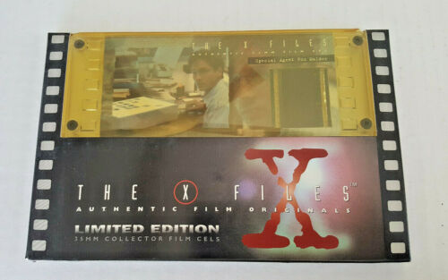 THE X-FILES Film Cell LIMITED EDITION #2198 Fox Mulder 35mm Collectors 1996