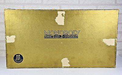 Monopoly • Große goldene alte DM Version • Spiele Schmidt • Brettspiel • 60er ?
