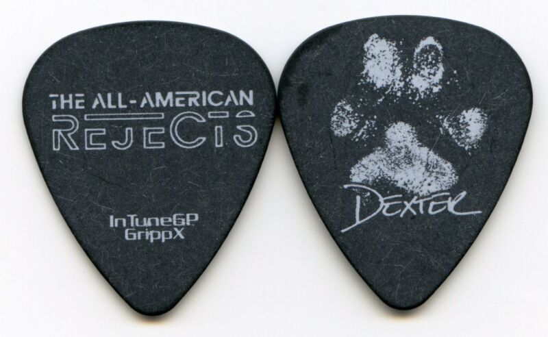 ALL AMERICAN REJECTS 2012 Kids Tour Guitar Pick!!! NICK WHEELER concert stage
