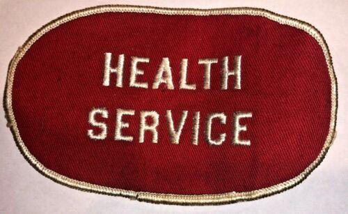 1964 Health Service (Medical Staff) Armband National Scout Jamboree - RARE!