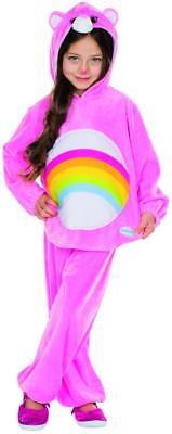 Glücksbärchi Hurrabärchi Kinder Kostüm pink Pyjama Bär Karneval - Glücksbärchi Kostüm Kinder