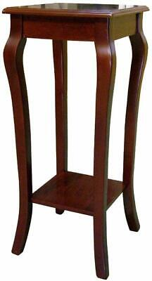 Traditional Dark Cherry Plant stand flower stand -