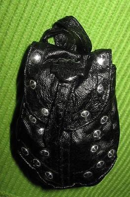 #1 FIRST MATTEL HARLEY DAVIDSON BIKER BARBIE DOLL FOR  CLOTHES BLACK BACKPACK!