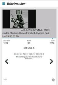 Beyonce & Jay Z On The Run London June 15