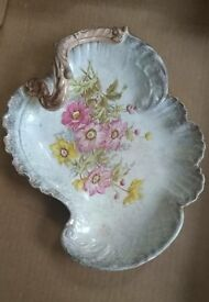 Pretty vintage hand painted dish