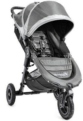 Baby Jogger City Mini GT Compact All Terrain Stroller Steel Gray NEW 2016