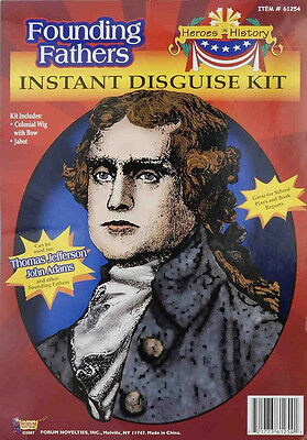 Thomas Jefferson Kit Founding Father USA President Halloween Costume Accessory