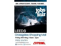 FREE JOBS FAIR - Leeds 19th May 2017