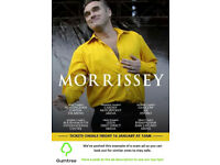 Morrissey Tickets -- Read the ad description before replying!!