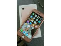 Apple iPhone 7 - 32GB - Rose Gold (Unlocked) Smartphone.