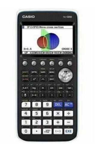 "Casio PRIZM FC-CG50 Graphing Calculator~16MB~3.17""~USB Cab"