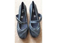 Brand New Ladies Size 8 M&S Wide Fit Shoes