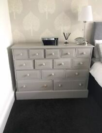 Shabby Chic Chest of Drawers -SOLD