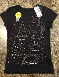 NEW Glow in the Dark Children's Place Shirt, size XS - $7.