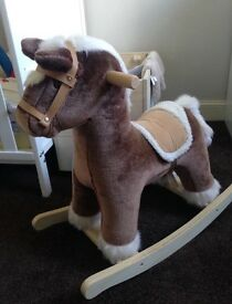 Mamas and papas rocking horse toy