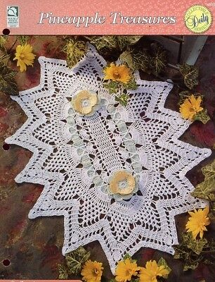 Шаблоны Reflections Doily HOWB Pineapple Treasures
